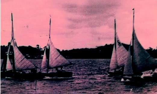 Inaugural Race of Garrison Yacht Club